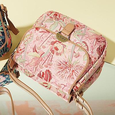 LiliO  側背包  非洲花卉彩繪印花  S Shoulder Bag Powder
