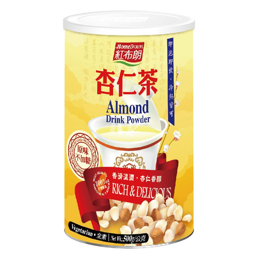 紅布朗 杏仁茶(500g/罐)