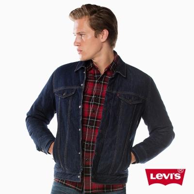 牛仔外套 男裝 保暖羽絨 - Levis