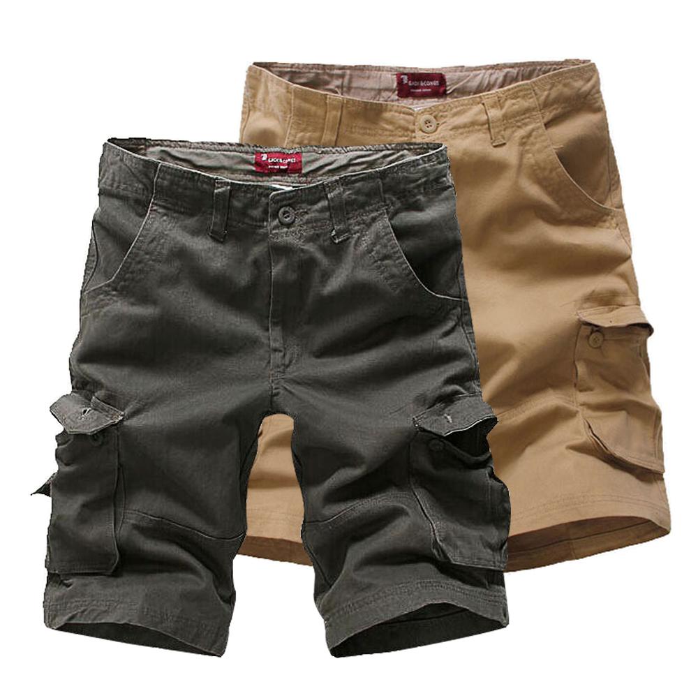 DITION 美式OUTDOOR多口袋工作褲 大尺碼 水洗機能