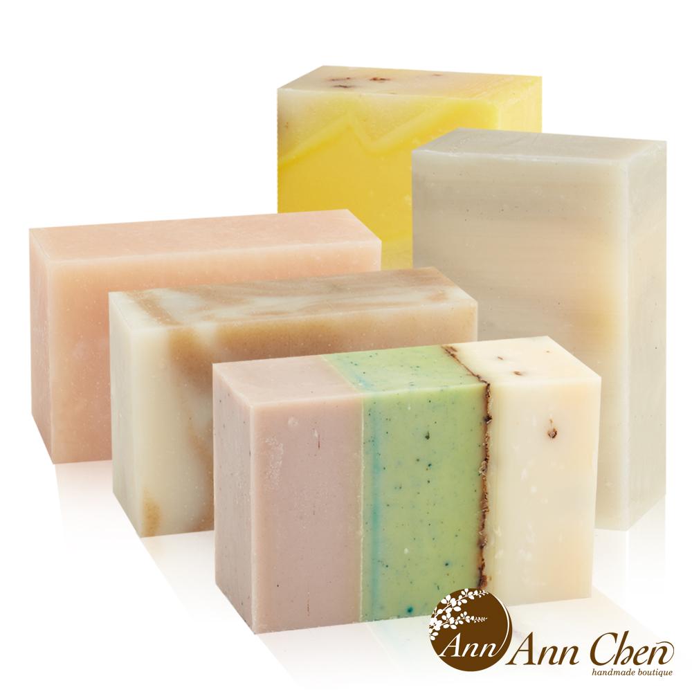 陳怡安手工皂-輕盈保濕舒緩手工皂5入組