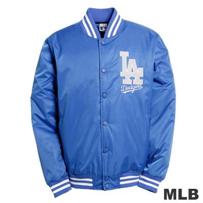 MLB-洛杉磯道奇隊鋪棉棒球外套-藍(男)