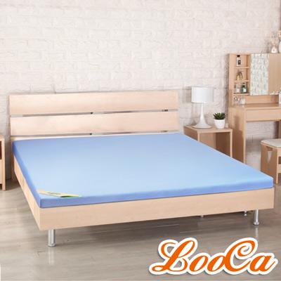 LooCa 高規HT美國抗菌5cm乳膠床墊-加大6尺