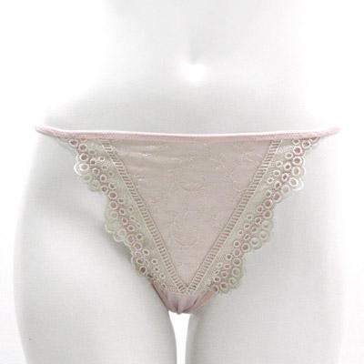 【La Felino】秘密花園丁字褲 (甜嫩粉)