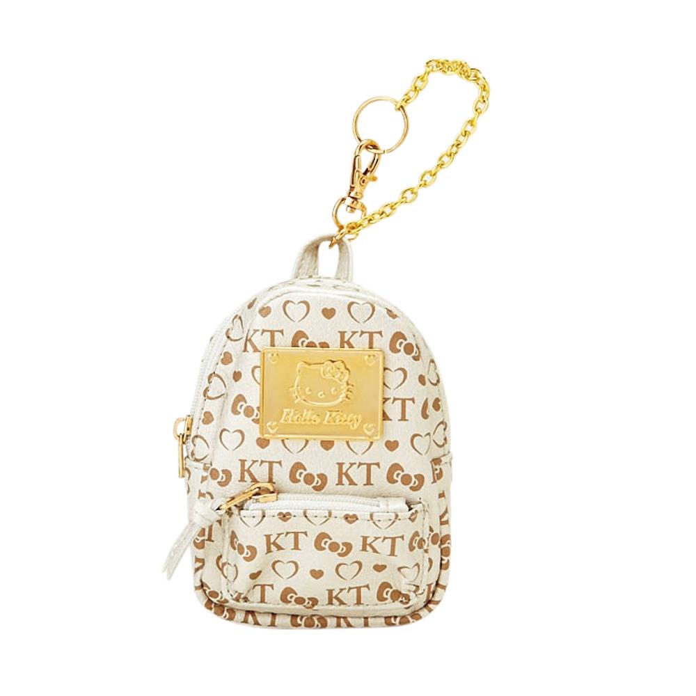 Sanrio HELLO KITTY*QUESTINA系列造型迷你包附鎖鍊小背包
