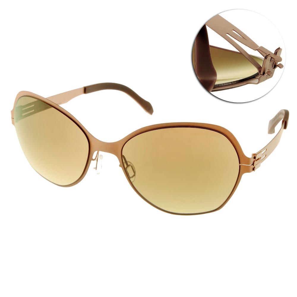 Whisper太陽眼鏡 薄翼鏡框/霧面咖啡#WHM0001S C30