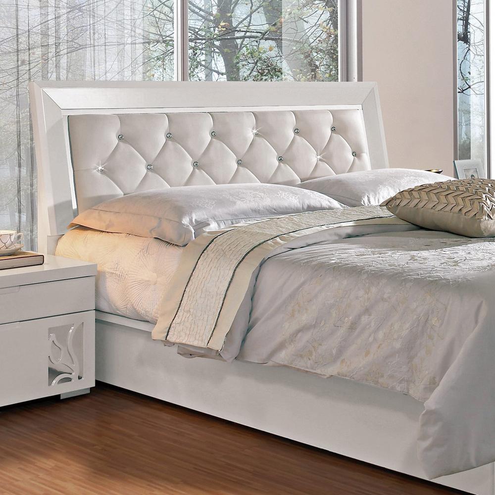 CASA卡莎  艾琳5尺床片型雙人床架(不含床墊)