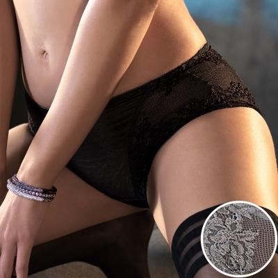 黛安芬-艾聖思‧法式香頌系列M-EL平口內褲(清晨霧灰)