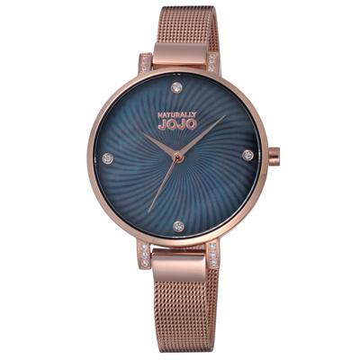 NATURALLY JOJO晶鑽米蘭魅力腕錶-JO96925-88R