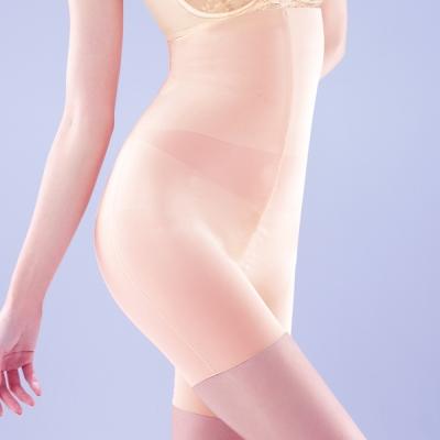 【Audrey】魔塑美肌 長型修飾束褲(粉橙色)