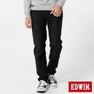 EDWIN 迦績褲JERSEYS織帶AB褲-男-黑色