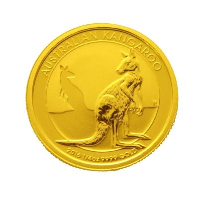 2016年澳洲袋鼠金幣-1/4盎司(OZ)