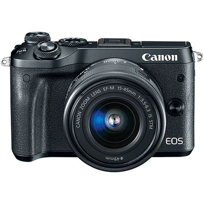 Canon M6+EF-M 15-45mm IS STM-黑色(中文平輸)