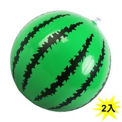 WEKO 16吋西瓜造型沙灘球2入(WE-WM16-2入)