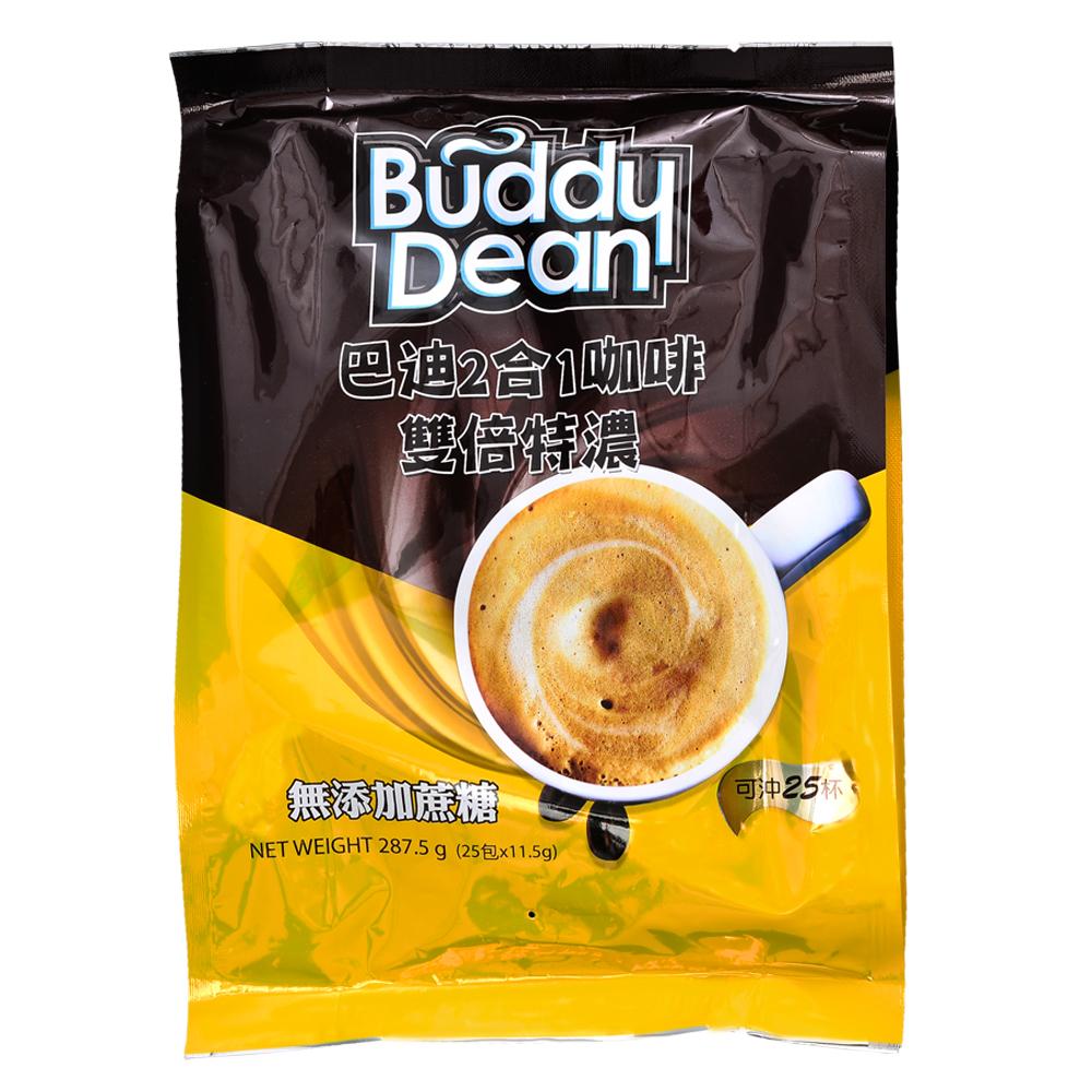 Buddy Dean 巴迪二合一咖啡-雙倍特濃(11.5gx25包)