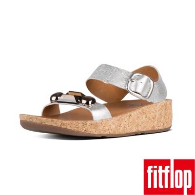 FitFlop JEWELEY BACK STRAP SANDAL-銀色