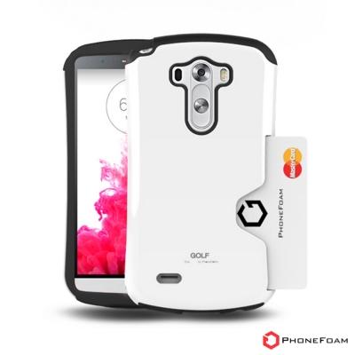 PhoneFoam Golf LG G3 插卡式吸震保護殼