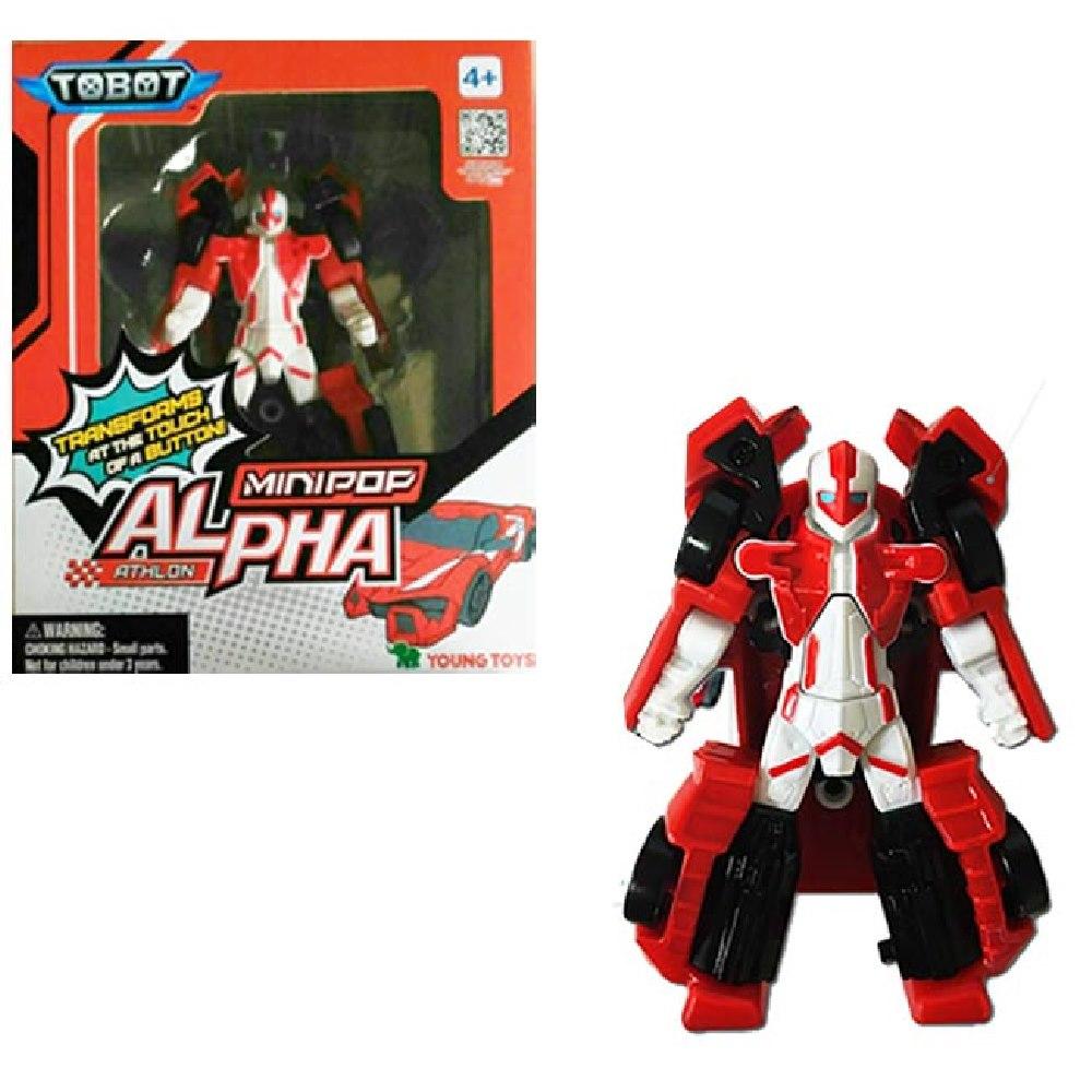 任選TOBOT 機器戰士 MINI POP ALPHA ENG 原廠公司貨 YT01062