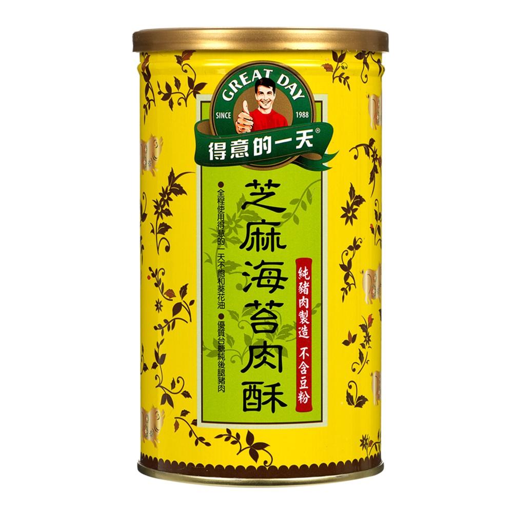 得意的一天 芝麻海苔肉酥(200g)