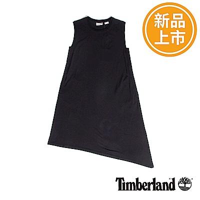 Timberland Itochu女款黑色夏季不對稱剪裁背心連身裙