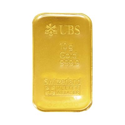 『限時89折』【UBS kinebar】黃金條塊(10公克)