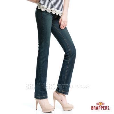 BRAPPERS 女款 新美腳二代l系列-女用直統褲-復古藍