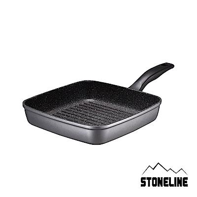 德國STONELINE阿爾卑斯山原石方型牛排鍋(26cm)(快)