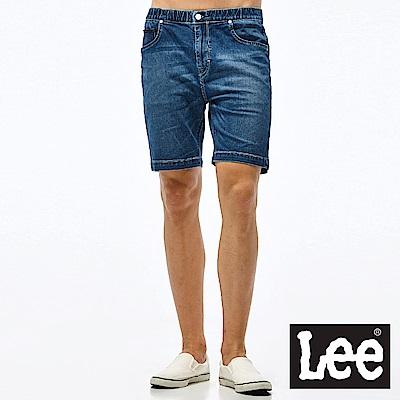 Lee 深色牛仔短褲-男款