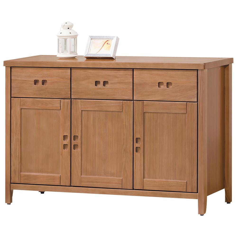 時尚屋 香杉美檜4.2尺碗盤櫃