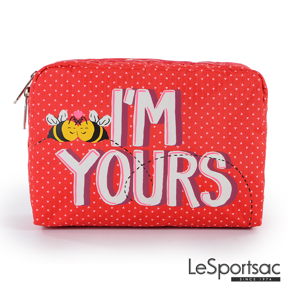 LeSportsac - Standard大型旅行收納包 (BEE MINE)