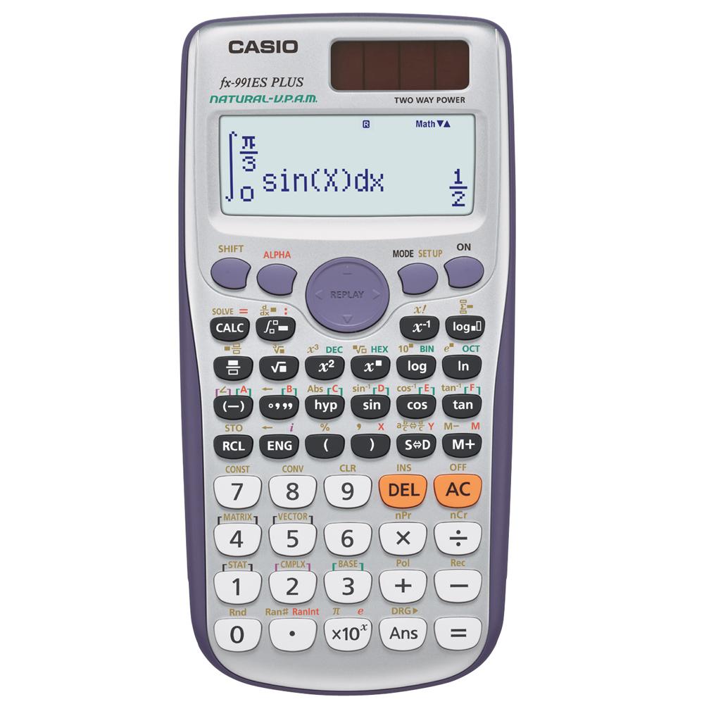 CASIO 卡西歐新工程型計算機-( FX-991ES PLUS)