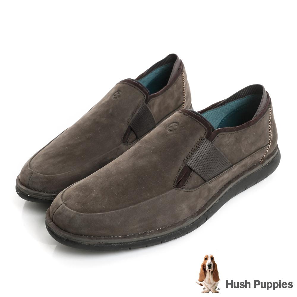 Hush Puppies BOLT百搭休閒鞋-煙灰
