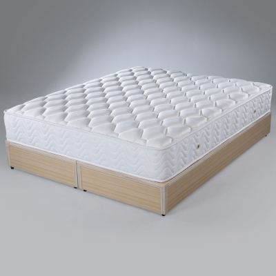 Homelike 歐斯二線OUTLAST舒適獨立筒床墊 單人3.5尺