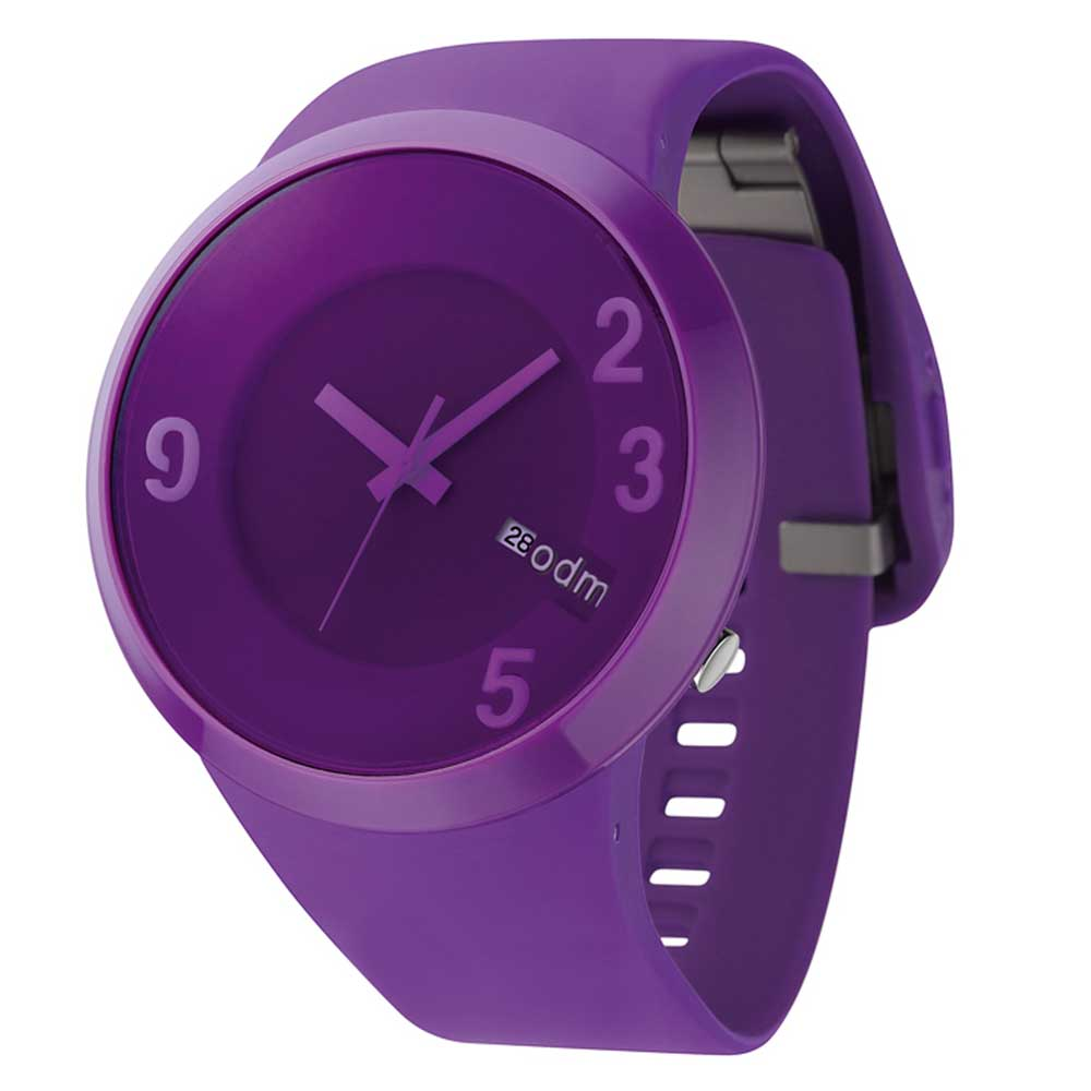 o.d.m. 60sec 迷幻碟音之風腕錶-紫/49mm