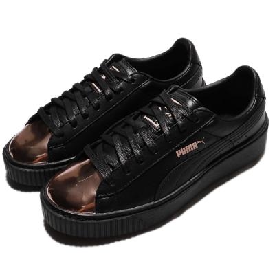 Puma 休閒鞋 Basket Platform 女鞋