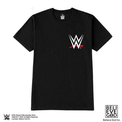 WWE正版授權WWE LOGO 潮T (黑)
