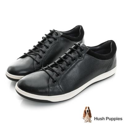 Hush Puppies Tygo 運動風時尚休閒鞋-黑色