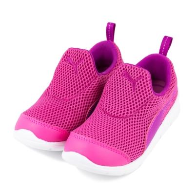 24H-PUMA-中幼童鞋18960203-桃紅紫