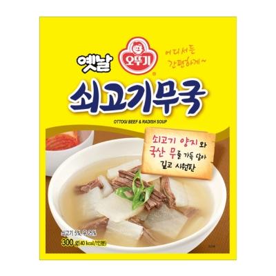 OTTOGI不倒翁 牛肉蘿蔔湯(300g)
