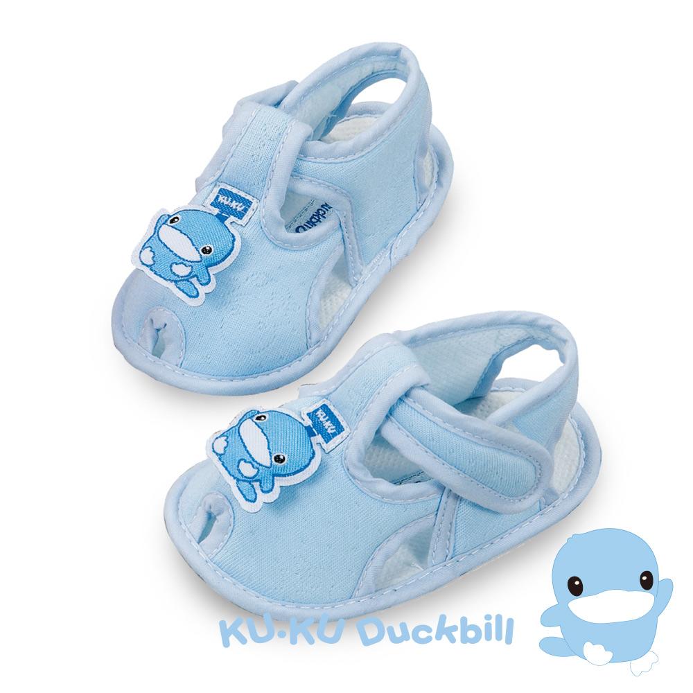 任選-KU.KU酷咕鴨 酷咕鴨幼兒學步鞋-藍(M/L/XL/LL)
