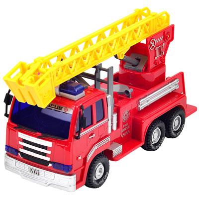 《Construction》~益智燈光音效功能工程造型磨輪系列消防車
