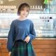 東京著衣 多色甜美女孩袖口綁帶長袖上衣(共三色)