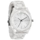 NIXON 絕代風華時尚玻麗腕錶(白)-40mm