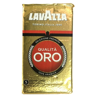 LAVAZZA QUALITA ORO 金牌咖啡粉(鋁箔包2包)