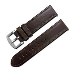 LICORNE 力抗 各種品牌通用復刻真皮錶帶-棕色/22mm