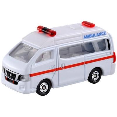 任選 TOMICA NO.018 日產NV350救護車_TM018A