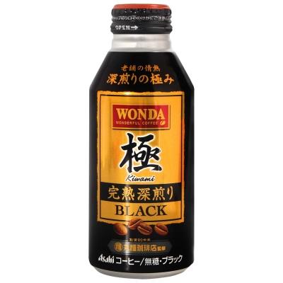 西日本 Canpack WONDA極咖啡-Black(400g)