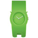 ALESSI 慵懶的貓造型手環錶-綠/35mm product thumbnail 1