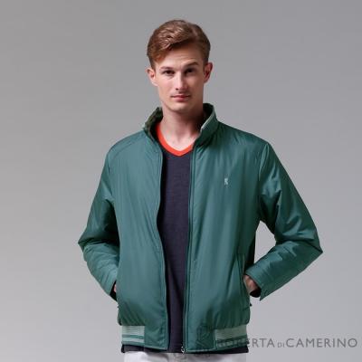 ROBERTA諾貝達-禦寒必備-內裡舖棉夾克外套-藍綠