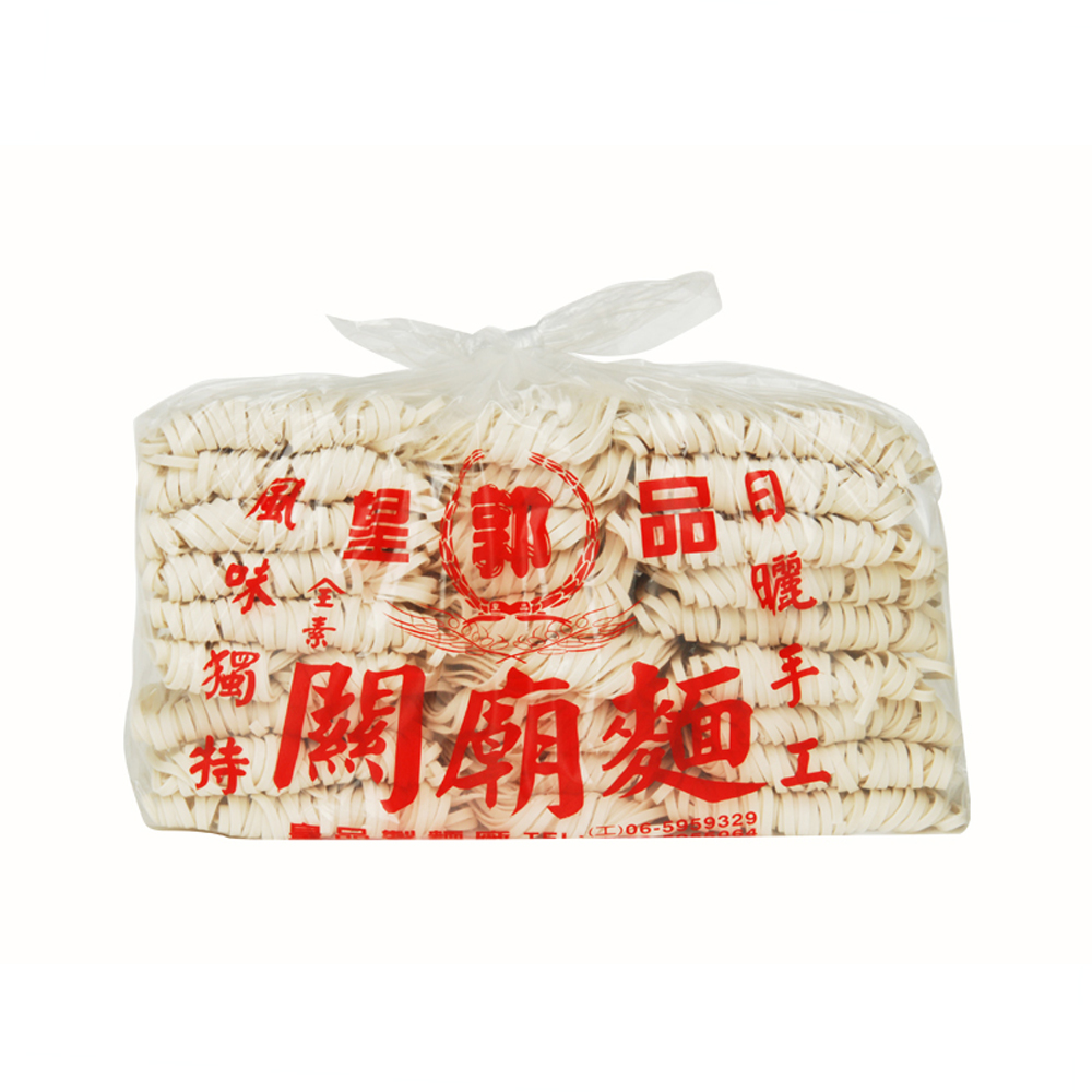 皇品 郭關廟麵 -寬版 1,500gx12包/箱
